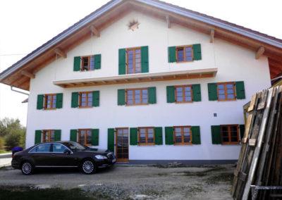 abgeschlossene Sanierung von Holzbau Zimmerei Reichart