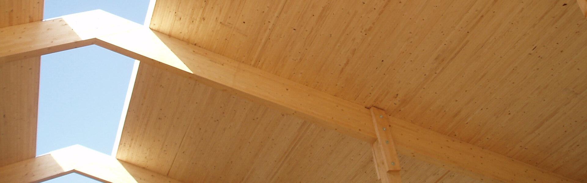 Holzdach bei Holzbau Reichart in Marktoberdorf im Allgäu