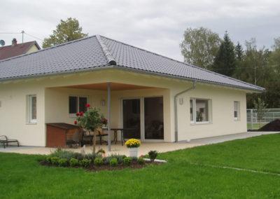 Referenz für ein Haus von Holzbau Zimmerei Reichart