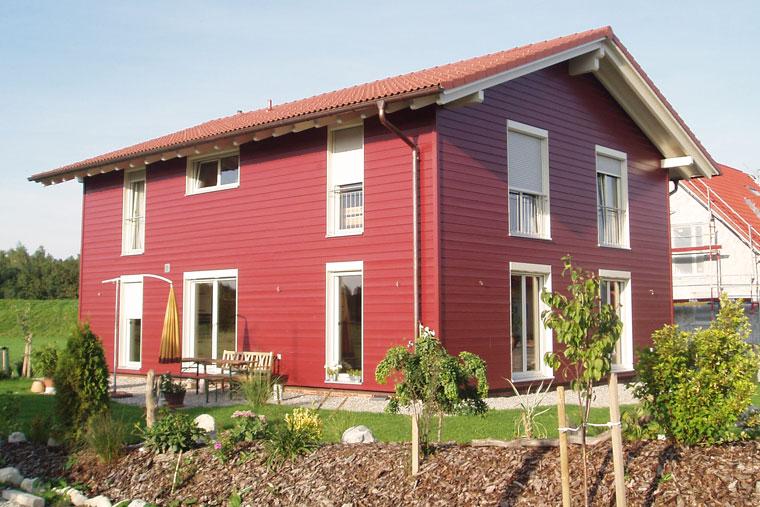 Holzhäuser gebaut von Zimmerei Reichart