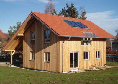 Referenz für ein Holzhaus von Holzbau Zimmerei Reichart