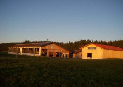 Stallungen für den landwirtschaftlichen Bereich