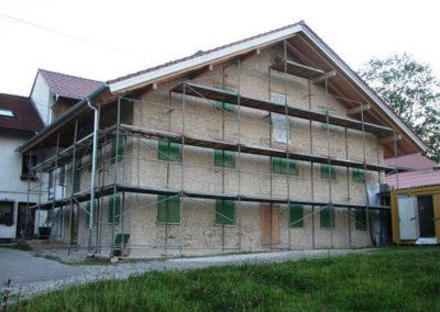 Außensanierung von Holzbau Zimmerei Reichart